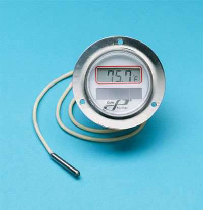 THERMOMETER F/C SOLAR WALL