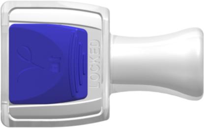 RQC Series Female Connector Cap Locking Version Animal-Free Polypropylene