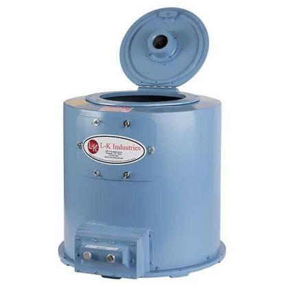 L-K Industries Melton Oil Centrifuge for Short Cone Tubes, 220 VAC