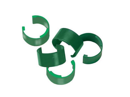 COLOR CLIPS, BAG OF 10 (GREEN)