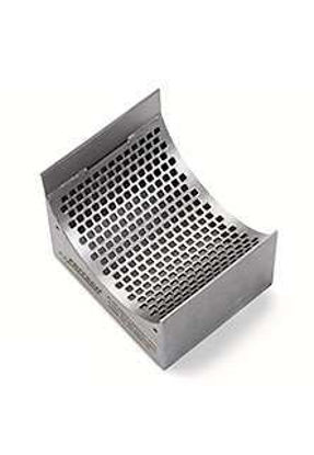 Sieve cassettes made of stainless steel 316L 10 mm square perforation