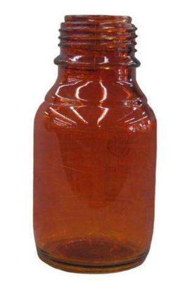 Glass Bottle 500ml Coated, Amber