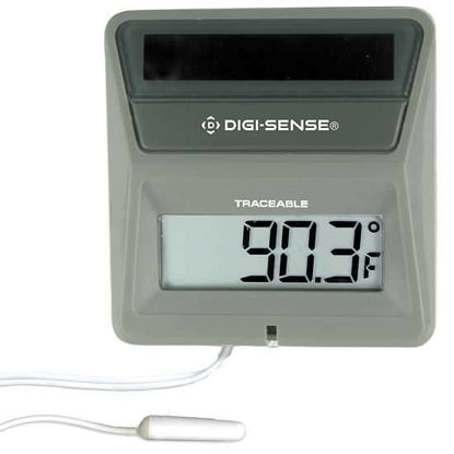 DS THERMOMETER SOLAR POWERED