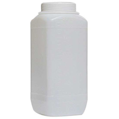 Corning Gosselin Storage Bottle with Screw Cap, 2.5 L, square, HDPE, sterile; 35/cs