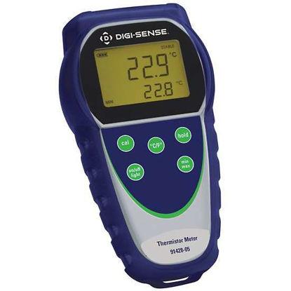 Digi-Sense Temp-300 Dual-Input Data Logging Thermocouple Thermometer