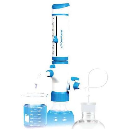 Cole-Parmer Dual-Inlet Bottletop Dispenser, 5-60 ML