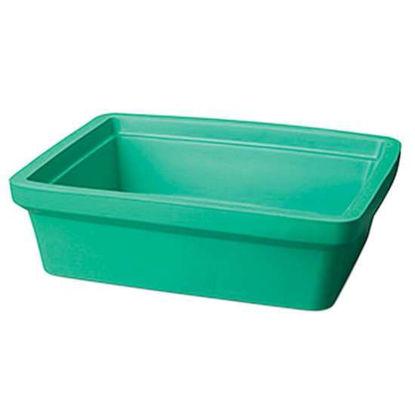 "Corning EVA-Foam Ice Pan, Green, 9 L; 1/Each"""