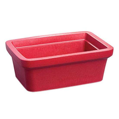 Corning EVA-Foam Ice Pan, Red, 4 L; 1/Each