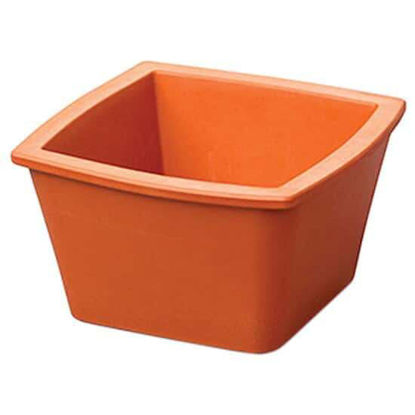 "Corning EVA-Foam Ice Pan, Orange, 1 L; 1/Each"""
