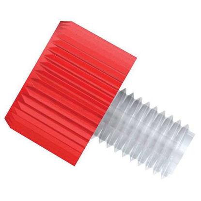 "Diba Click-N-Seal™ Ultra Tubing End Fitting, inverted cone, 1/16"" OD tubing, 1/4""-28 UNF(M), PEEK; 10/pk"