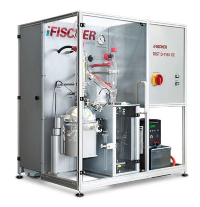 i-Fischer® DIST D-1160 CC / FISCHER® AUTODEST® 850 AC, Fully Computer Controlled Boiling Analysis according to ASTM D1160