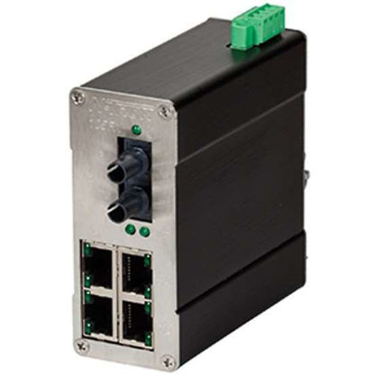 Red Lion N-TRON N-Tron Unmanaged Industrial Ethernet Switch, 5 Port; ST