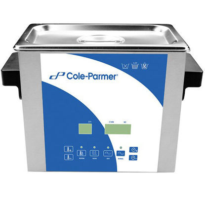 Cole-Parmer 3 Liter Ultrasonic Cleaner with Digital Timer and Heat, 230 VAC