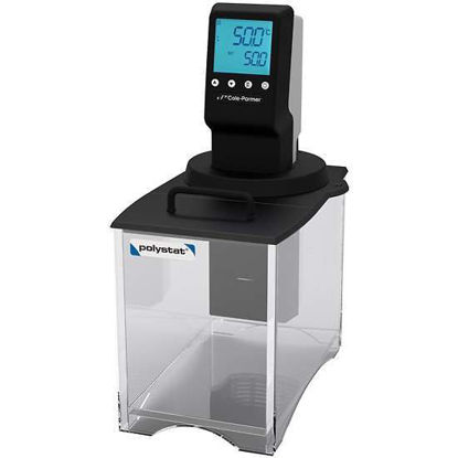 Cole-Parmer Polystat PC Open Bath System, 8 L, Amb +10-85°C; 240 V/50 Hz