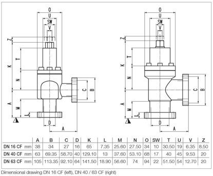 UHV All-Metal Right-Angle Valve DN40CF