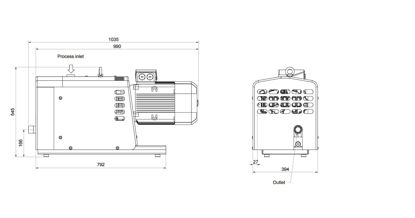 CLAWVAC CP65 MEAY 230v 60Hz 3Ph