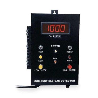 US Industrial 8100/2AL/D Gas Detector w/2-Stage Alarm, LEL