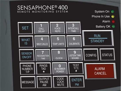 Sensaphone 400 Frost Alarm System