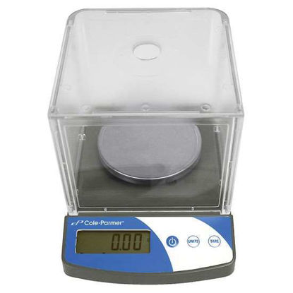 Cole-Parmer Symmetry Compact Portable Toploading Balance, 300g x 0.01g, 220V