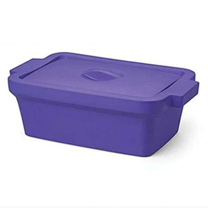 """Corning EVA-Foam Ice Pan with Lid, Purple with Lid, 4 L; 1/Each"""""""