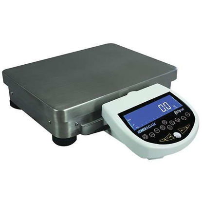 Adam Equipment EBL 12001e Eclipse Precision Toploader Balance, 12, 000G Capacity, 0.1g Readability, Backlit Lcd, 230V