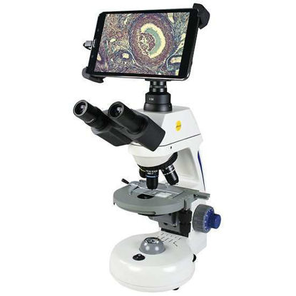 Swift Optical Compound microscope with Tablet-Style Display and Camera, Semi-plan objectives