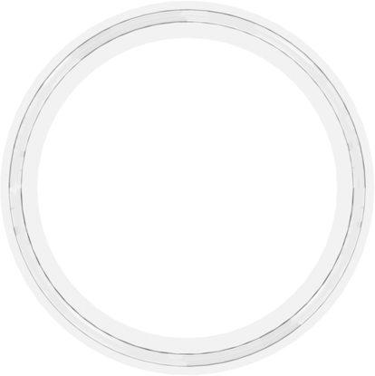 Gasket, 2.5 in Platinum Cured Silicone, MOQ 25