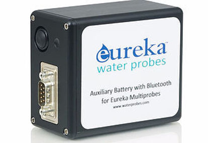 Auxiliary battery with Bluetooth; connects multiprobe to Amphibian, PC, or other display device (e.g. tablet, smart phone); 12.6 Volt, 4.5 Ah Li-ion with 110 volt AC wall charger