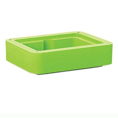 Corning 432088 Extension Collar for CoolBox 2XT, Green; 1/ea