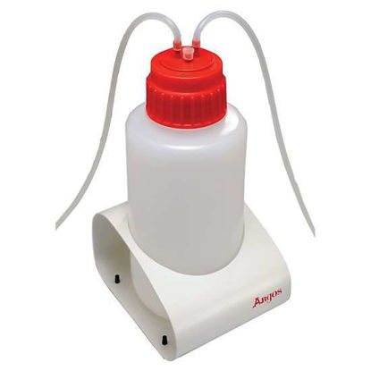 Argos Technologies M-Vac Jr. Standard 53B  Polypropylene Cap for 2 L Bottle, Red