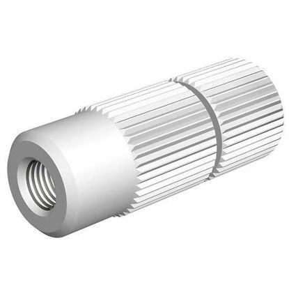 "Diba Omnifit® Inline Solvent Filter, PTFE, 1/4""-28 UNF(F) flat bottom, 20 μm; 1/ea"