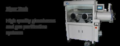 Standard V-Lab Single Length (2-port) Glovebox. Includes Vacuum Pump