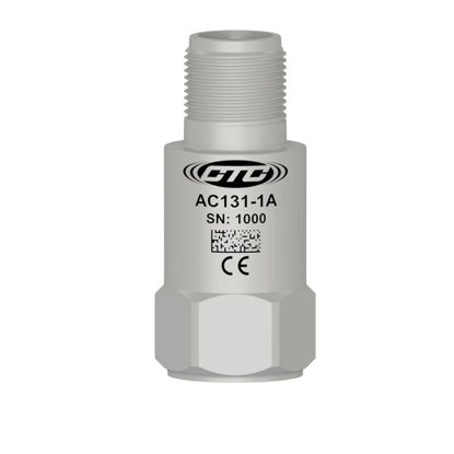 High g accelerometer, 10 mV/g, top connector; Standard 1/4 28 Mounting Screw