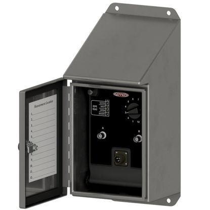 iBOX, Slope Top Stainless Steel Enclosure, Dual Channel Sensor Input, 12 Channels, Cord Grip Cable Entry, Spring Cage Terminal Blocks