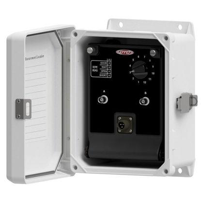 iBOX, Fiberglass Enclosure, Dual Channel Sensor Input, 12 Channels, Cord Grip Cable Entry, Spring Cage Terminal Blocks