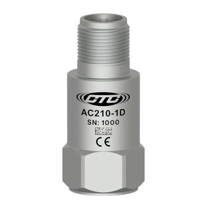 Premium accelerometer, 100 mV/g, +/-5%, top connector; Standard 1/4 28 Mounting Screw