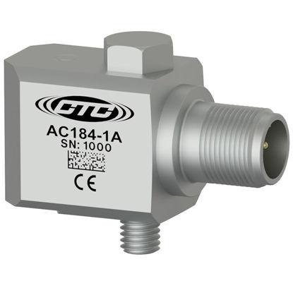 Multi-purpose accelerometer, 100 mV/g, side connector, with M8 captive bolt; Standard Sensitivity Tolerance