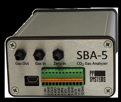 SBA-5 CO2 Gas Analyzer with Enclosure (Standard Range)