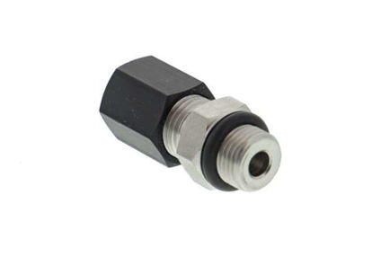 """VACUU·LAN® operating part C10: Adapter G1/4"""" - PTFE hose DN 10/8mm with union nut and o-ring"""