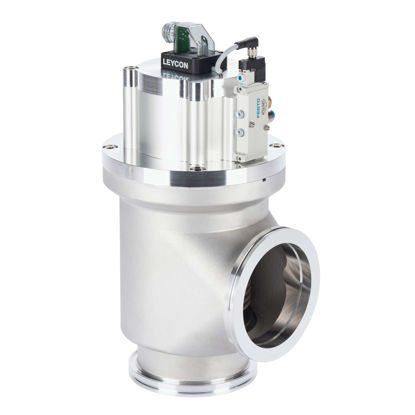 Right-Ang.Valve DN100ISO-K EPE Al 24V DC