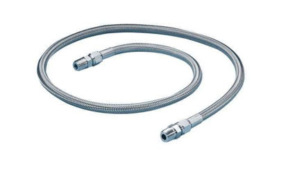 "FEP-LINED HOSE 1/4""F-M 1FT/PK"