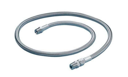 "FEP-LINED HOSE 3/8""M-M 1FT/PK"