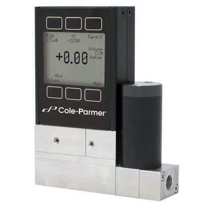 Cole-Parmer Flow Gas Mass Flow Controller, 0.05 to 5 LPM