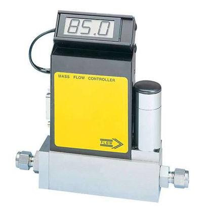 Aalborg GFCS-010173 Compact Gas Mass Flow Controller, 0-100 sccm, N2/Air, Aluminum Body