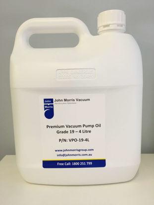 Vacuum Pump Oil - Grade 19 - 4L