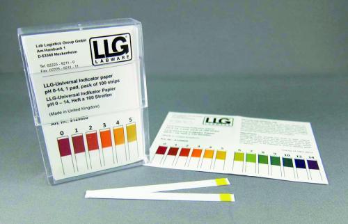 LLG-Indicator paper sticks