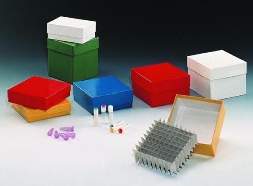 LLG-Cryogenic storage boxes, plastic coated, 136 x 136