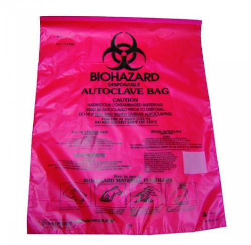 Biohazard waste bags, PP