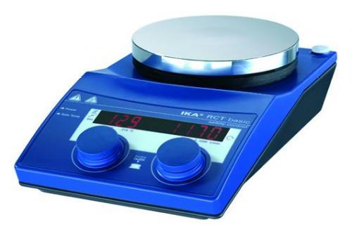 Magnetic stirrer/hotplate, RCT basic