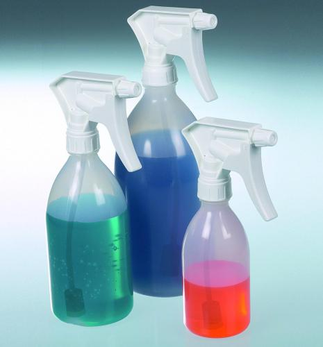 Spray bottle Turn'n'Spray with overhead valve,  PE / PP